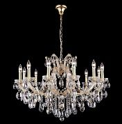 Люстра Crystal Lux HOLLYWOOD SP12 GOLD